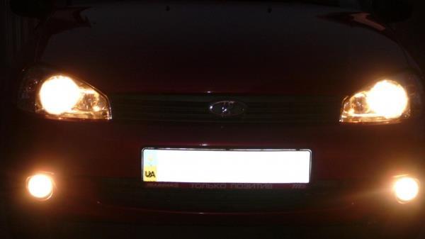 Как заменить лампочку ближнего света на калине 2 - Uaz4x4-shop.ru