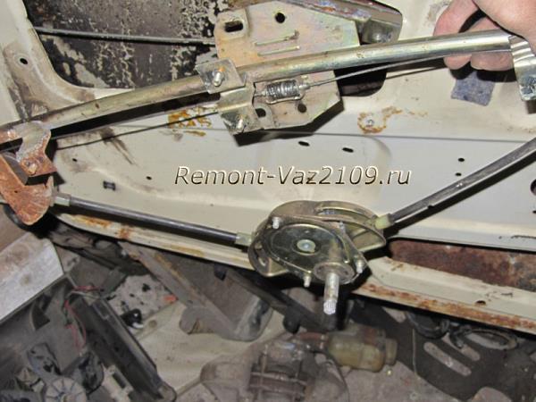 как снять стеклоподъемник механический на ВАЗ 2109-2108