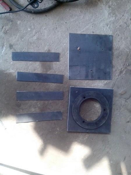 Установка радиатора от Нивы Шевроле и воздушного фильтра от ГАЗ 3110 в НИВУ