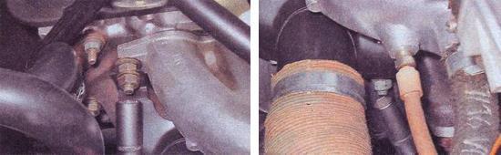 замена прокладки выпускного коллектора ваз 2107