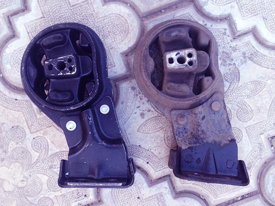 Замена подушек двигателя ВАЗ 2114. Меняем опоры двигателя своими руками