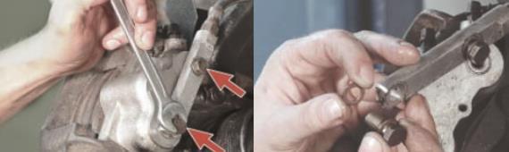 Замена суппорта переднего тормозного механизма Нива Шевроле