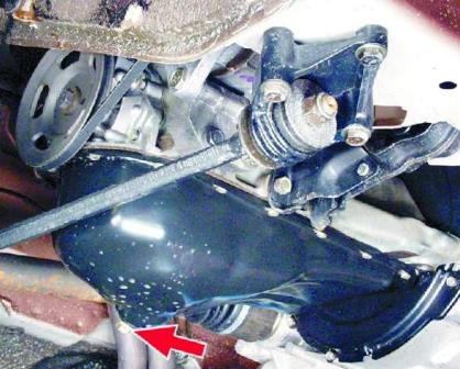 Замена масла в двигателе ваз 2109