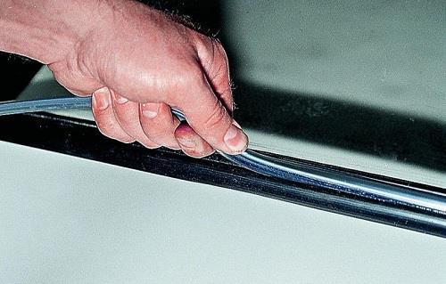 Снятие стекла. Замена лобового стекла