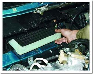 замена радиатора отопителя на ваз 2110