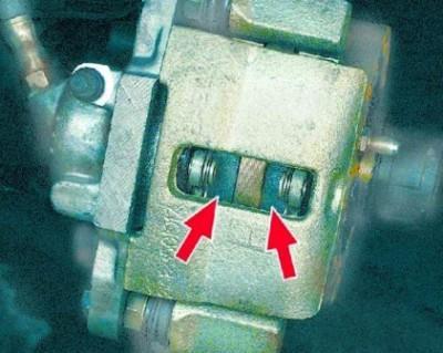 Замена передних тормозных колодок Ваз 2109