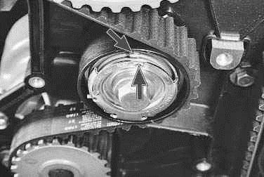 Операции проводимые при зане ремня привода газораспределительного механизма и натяжного ролика на автомобиле ВАЗ 2170 2171 2172 Лада Приора (Lada Priora)