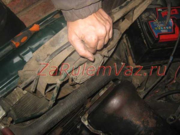 замена вентилятора радиатора на ВАЗ 2107 своими руками