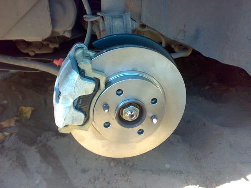 ваз 2110: замена тормозных дисков