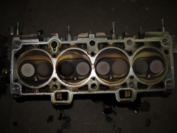 головка блока цилиндров 8 клапанного двигателя 1118