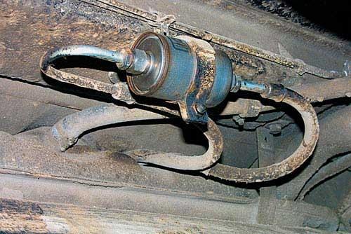 Старый фильтрующий агрегат