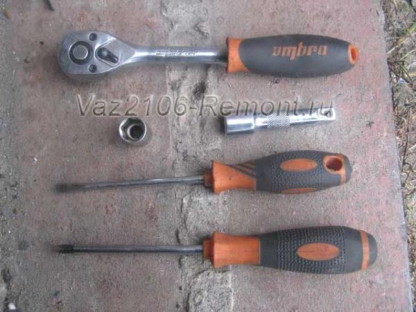 инструмент для замены бензонасоса на ВАЗ 2106