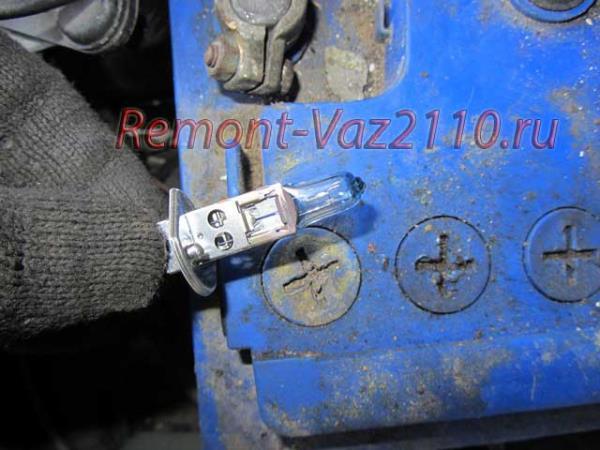 лампа ближнего света на ВАЗ 21102-112 замена и цена