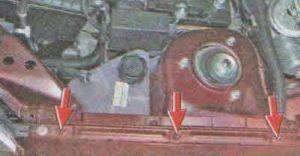 Снятие и установка переднего крыла Лада Гранта