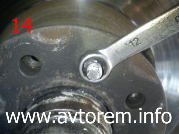 самостоятельная замена тормозных дисков передних колес ваз