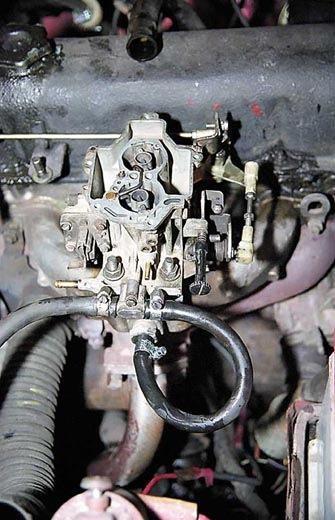 Замена карбюратора на Solex 21083 (инструкция)