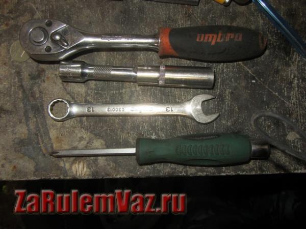 инструмент для снятия заднего бампера на ВАЗ 2115