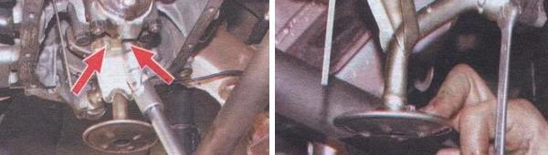 Замена переднего сальника коленчатого вала ваз 21099