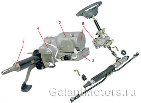 электромеханический усилитель руля 11186-3450008-00