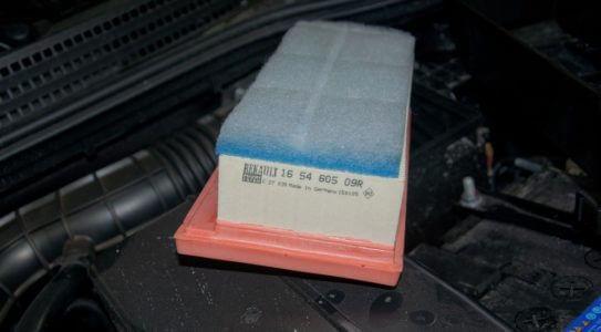 Замена воздушного фильтра лада веста