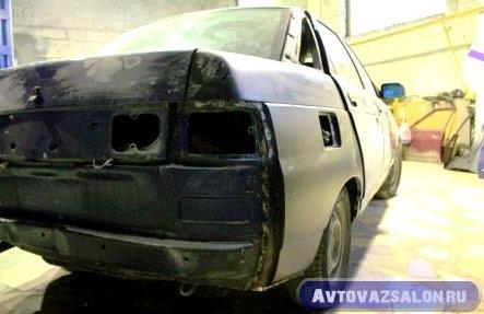 Ремонт и замена задних крыльев ВАЗ 2110, 2111, 2112 - видео инструкция