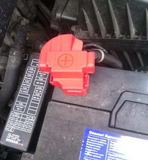 Крышка плюсовой клеммы аккумуляторной батареи Lada Largus