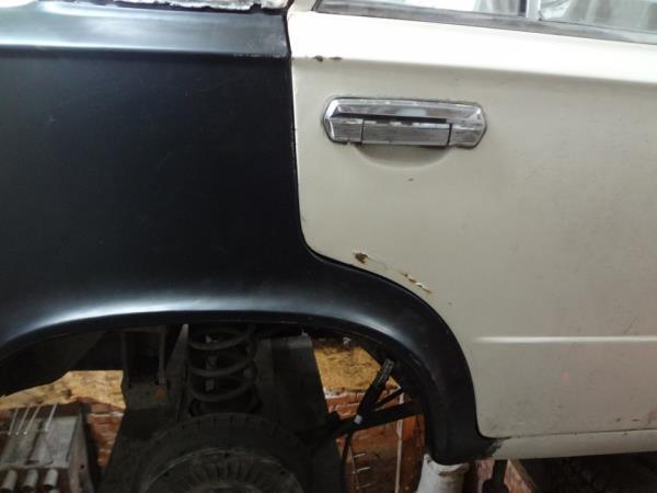 Замена переднего и заднего крыльев ВАЗ 2101