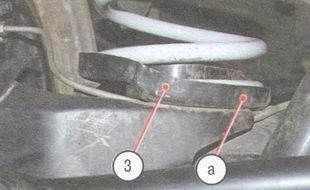 статья про Замена пружины задней подвески на автомобиле ВАЗ 2106