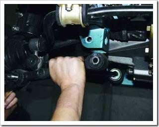 ремонт рычага передней подвески на ваз 2112