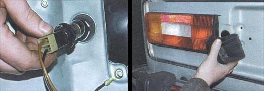 замена задних фонарей на автомобиле ваз 2106