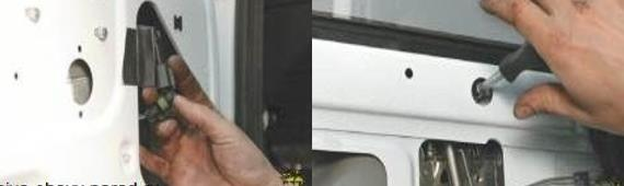 Снятие механизма стеклоподъемника передней двери Нива Шевроле