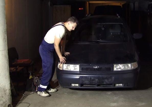 Проверка работоспособности передних стоек ВАЗ 2110