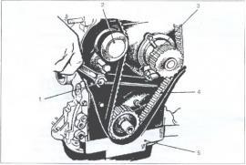 Замена натяжного ролика генератора опель