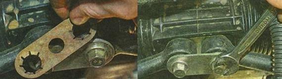 Замена рулевой тяги Лада Гранта
