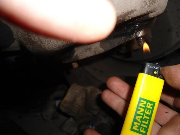 Замена передних амортизаторов ВАЗ 2107