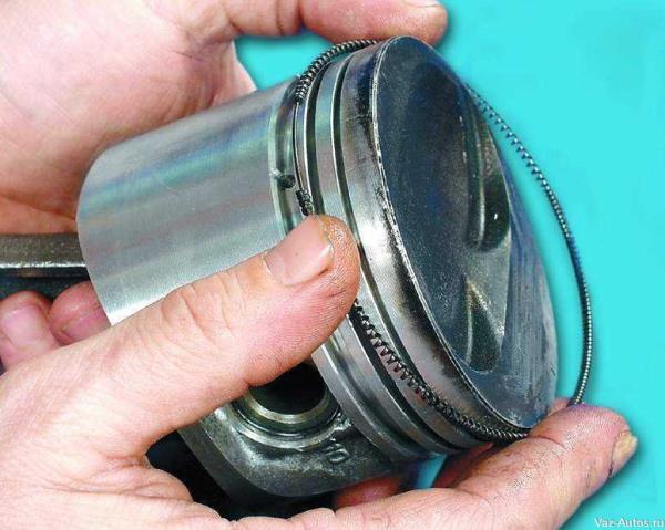 Как поменять маслосъемные кольца на ваз 2109 фото - Большая база файлов