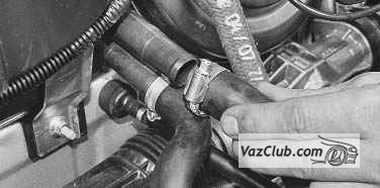 ВАЗ 21053 замена крана печки