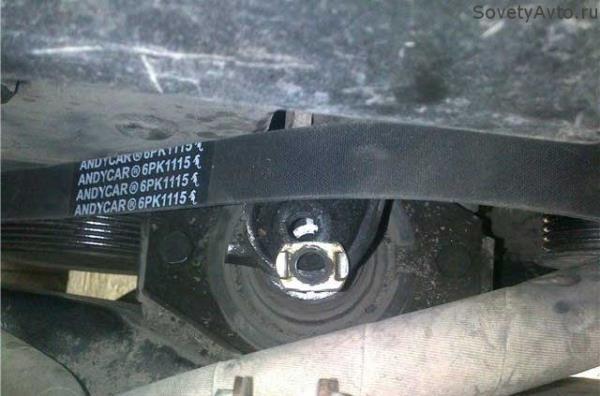 Замена ремня генератора на Приоре с ГУР и кондиционером
