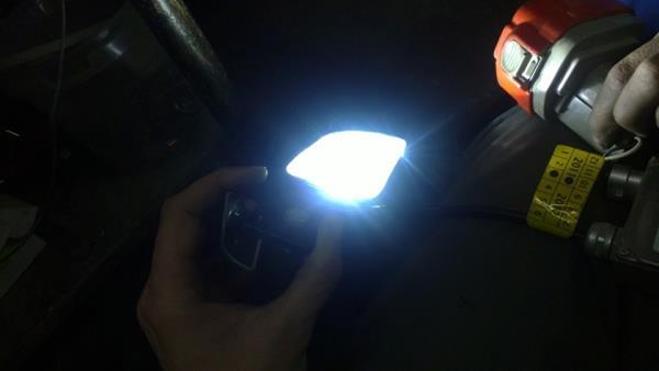 Изготовление фонаря заднего хода в Ниву