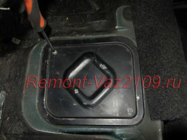лючок бензонасоса на ВАЗ 2109-2108 инжектор