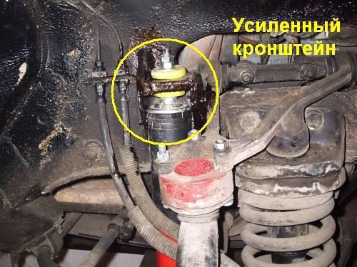Лифт подвески автомобиля «Лада Нива»