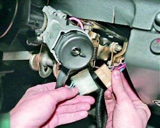 Замена замка зажигания ВАЗ-2110