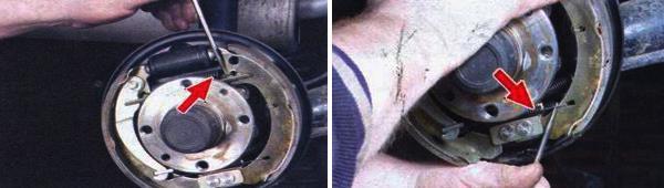 Замена задних тормозных колодок ваз 21099