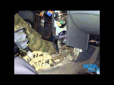 Как снять радиатор печки на Daewoo Nexia
