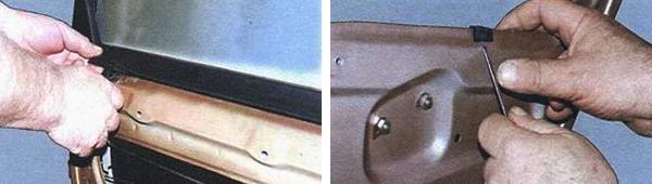 Замена стекла задней двери на автомобиле ваз 2109