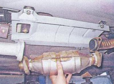 Замена резонатора на ваз 21074