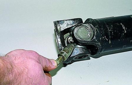 ВАЗ 2107 смазка карданный вал