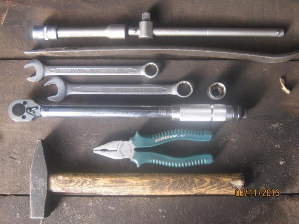 инструменты для замены рулевых наконечников на Калине