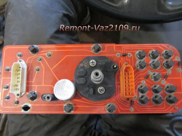 лампочки щитка приборов ВАЗ 2109-2108, 21099