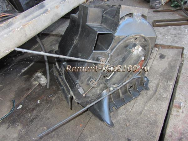 замена печки на ВАЗ 2109-2108